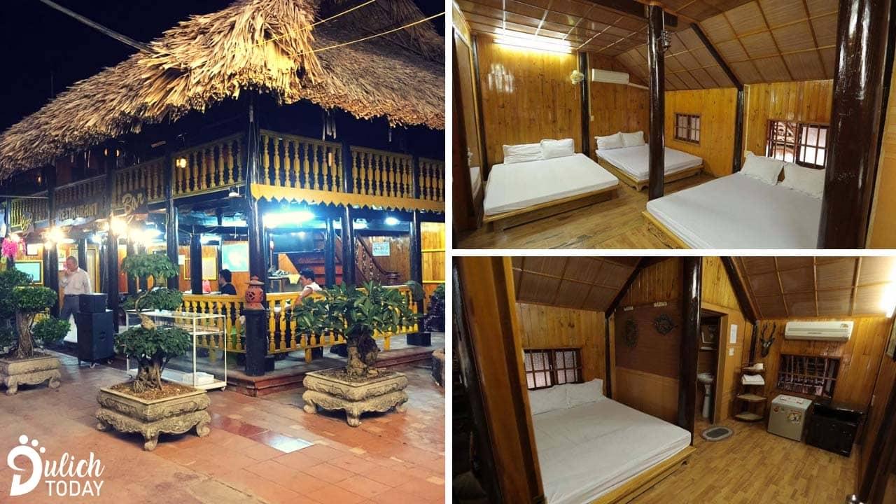 Hệ thống các phòng nghỉ tại Cát Bà Mountain View