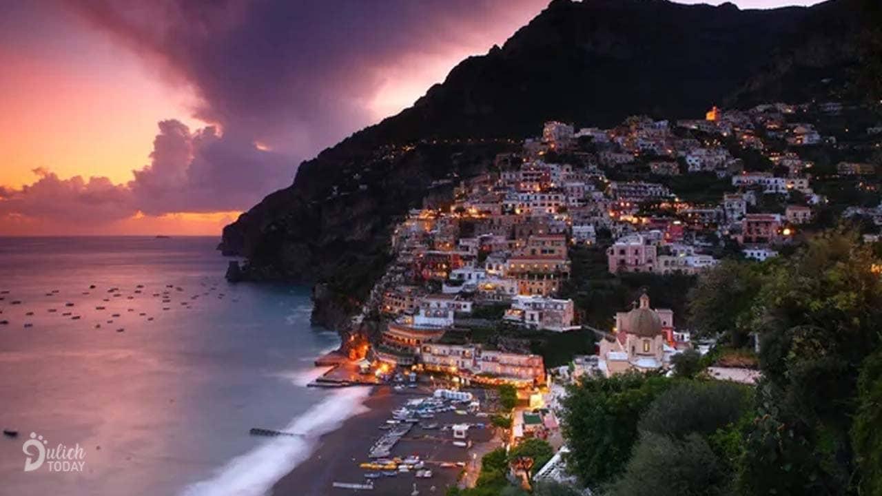 Vẻ đẹp thiên đường của Amalfi nước Ý bên bờ Địa Trung Hải