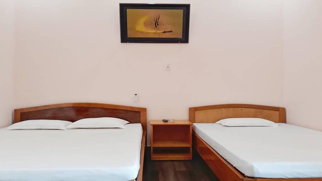 Phòng nghỉ tại The Organic Life Homestay Bảo Lộc