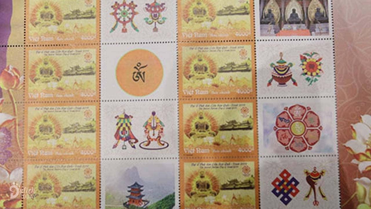Bộ tem chào mừng Đại lễ Phật đản Vesak 2019