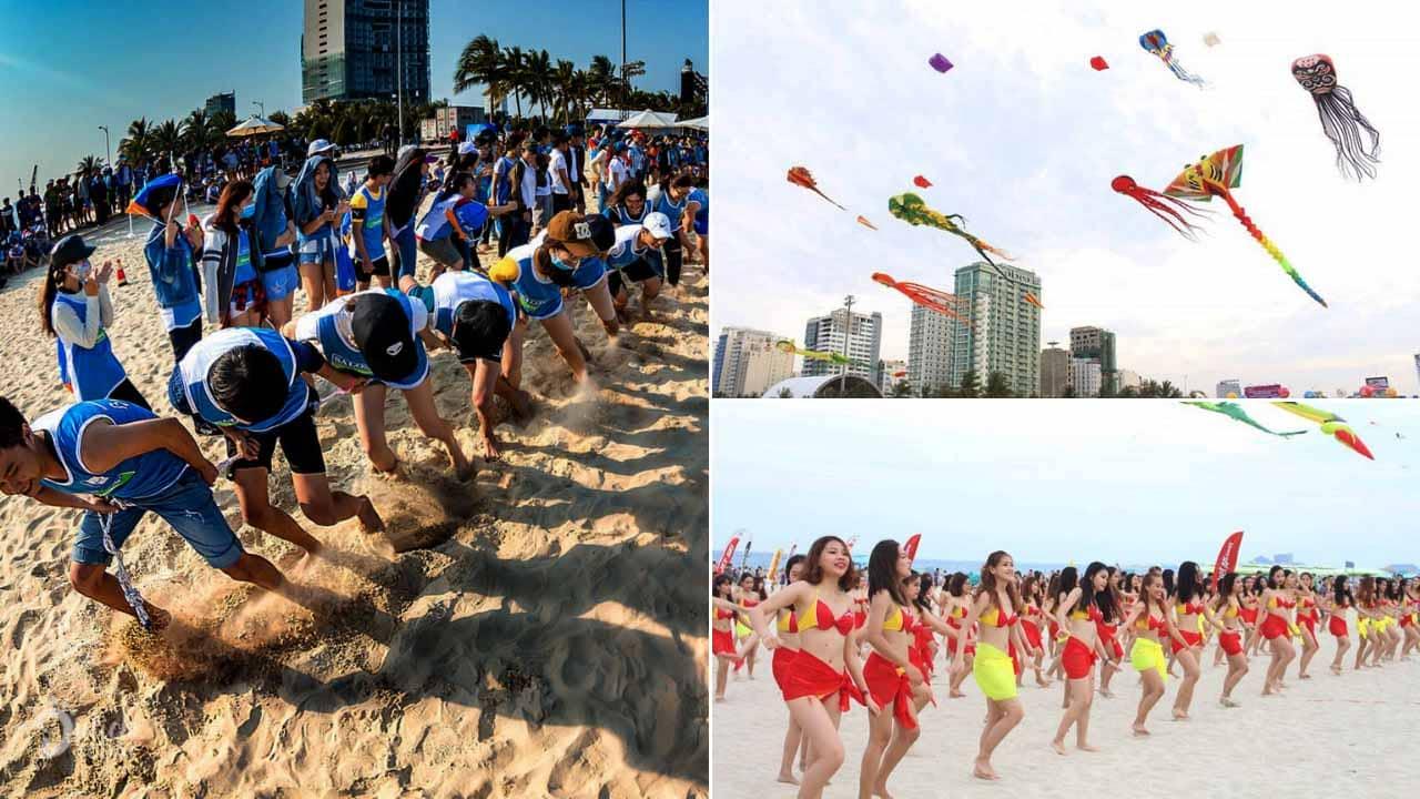 """Rất nhiều hoạt động hấp dẫn được tổ chức trong chương trình """"Đà Nẵng - Điểm hẹn mùa hè"""" diễn ra hàng năm"""