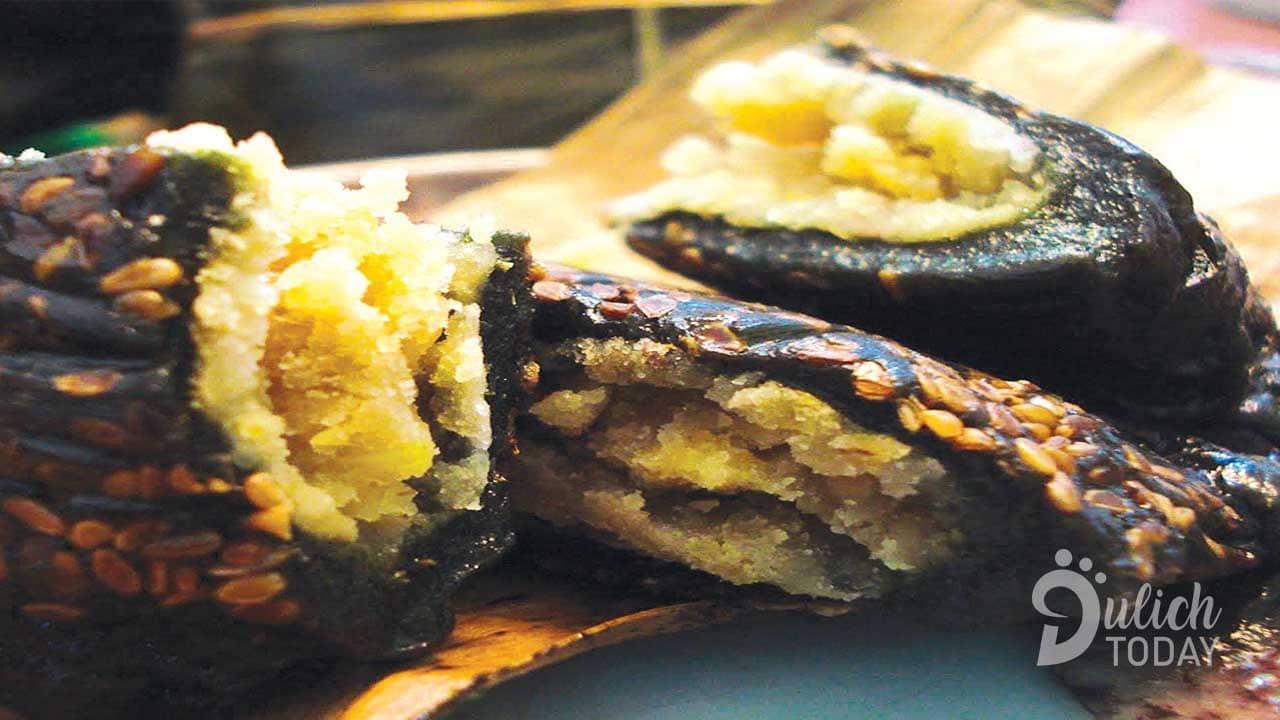 Bánh gai xứ Dừa - đặc sản làm quà thơm nức, bùi béo