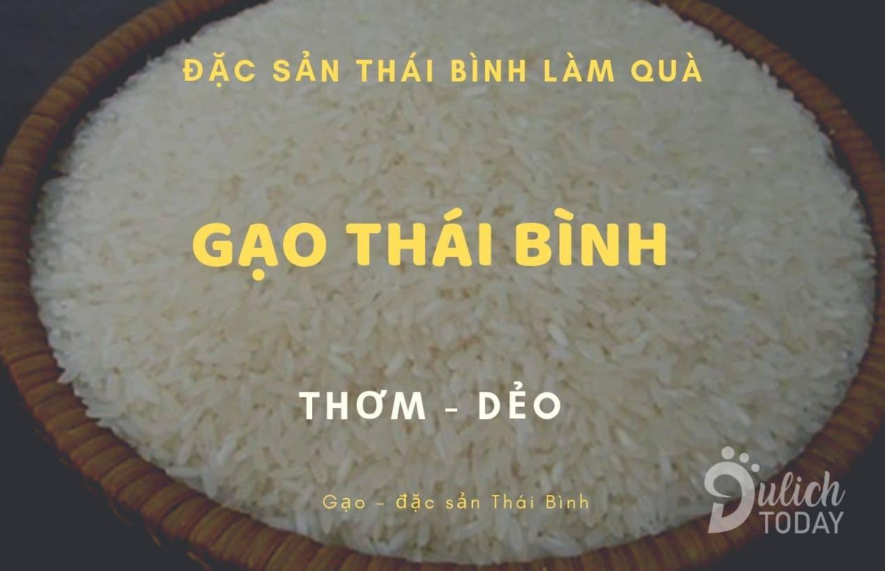 Đặc sản Gạo Thái Bình làm quà cho mọi nhà