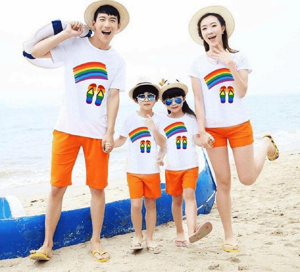 """Màu cam là một trong những màu sắc mang đến sự tươi mới và trẻ trung mà không sặc sỡ hay màu mè chút nào, bạn có thể yên tâm khi mua cho """"anh xã"""" và các bé trai bé gái nhà mình mà không làm mất độ nam tính đâu nhé"""