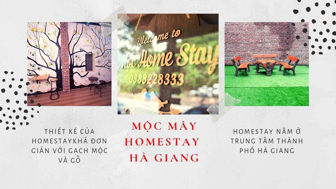 Homei homestay Hà Giang có kiến trúc trình tường nổi tiếng