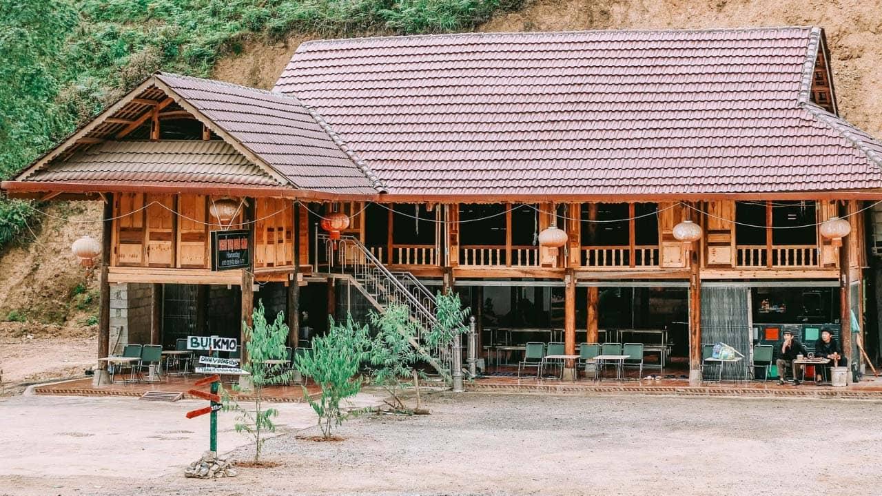 Bụi homestay là một trong những homestay Hà Giang dành cho dân phượt nổi tiếng