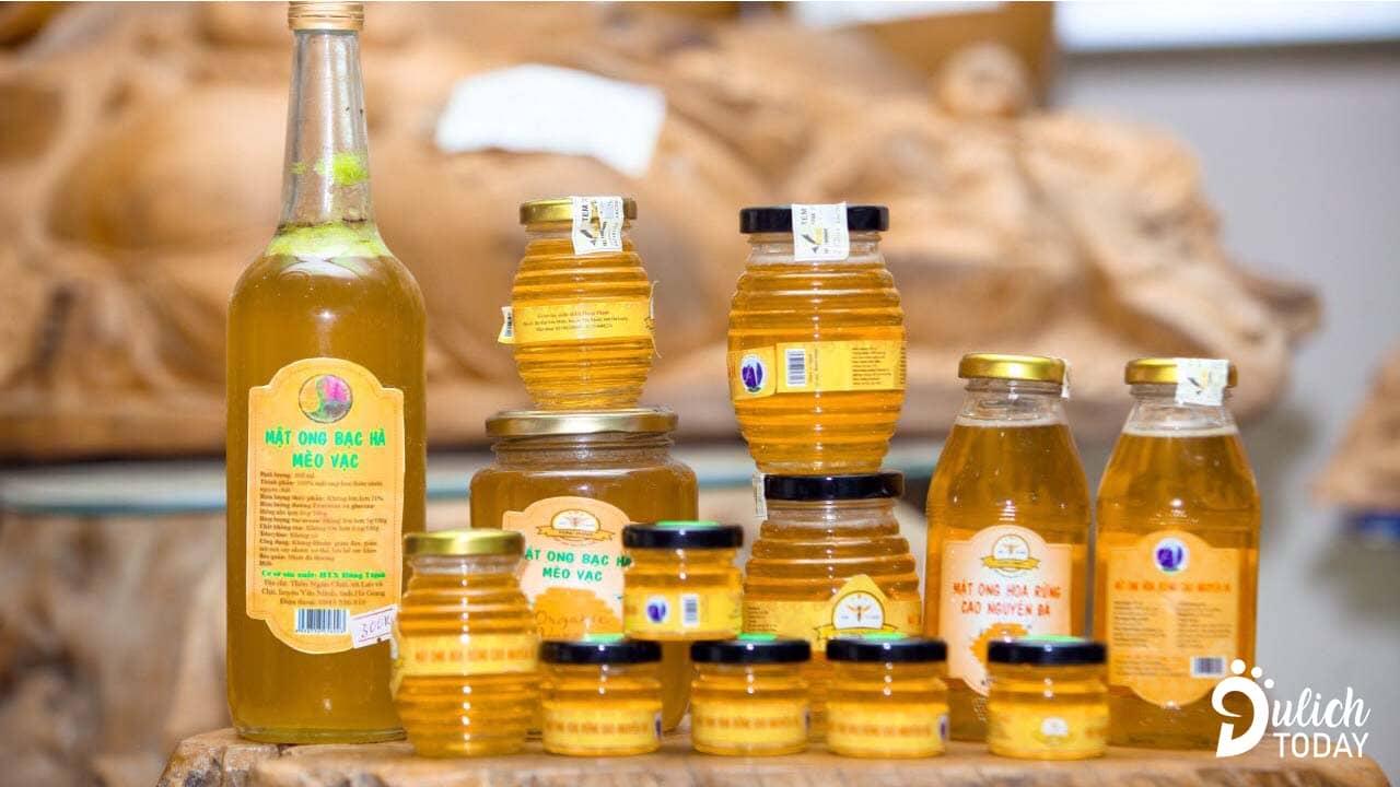 Mật ong bạc hà - vị thuốc và cũng là món làm đẹp quý hiếm