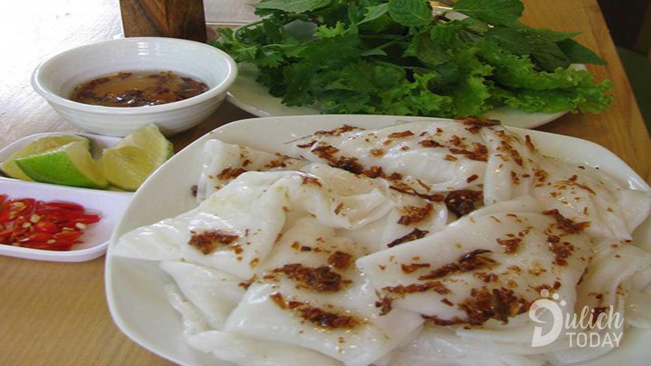 Bánh mướt Kẻ Giám là đặc sản rất riêng của Nghệ An