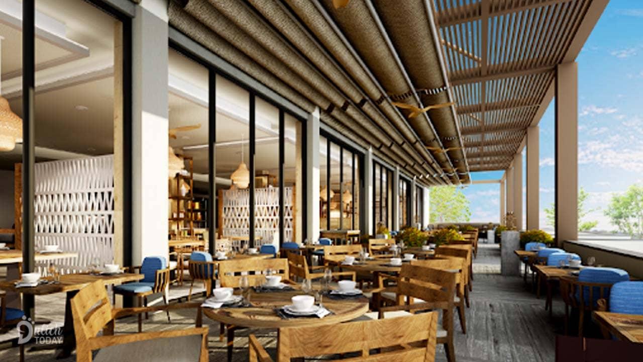 Chuỗi nhà hàng với ẩm thực đa dạng, chuyên nghiệp là thứ níu chân du khách tại Melia Resort Hồ Tràm