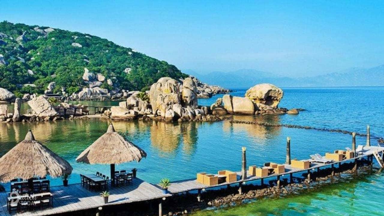 Cảnh quan thiên nhiên tại resort Ngọc Sương là yếu tố thu hút du khách tham quan hàng đầu