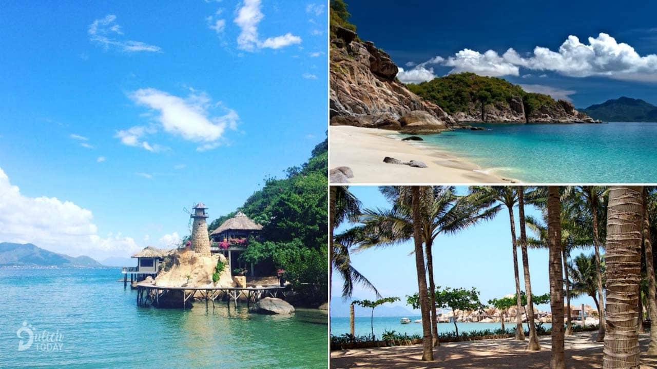 Bãi biển và cảnh quan thiên nhiên hoang sơ tuyệt đẹp tại resort
