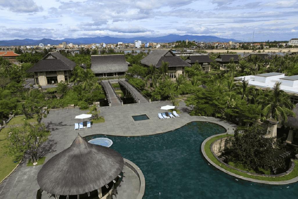 Toàn cảnh không gian tuyệt đẹp của Sun Spa Resort
