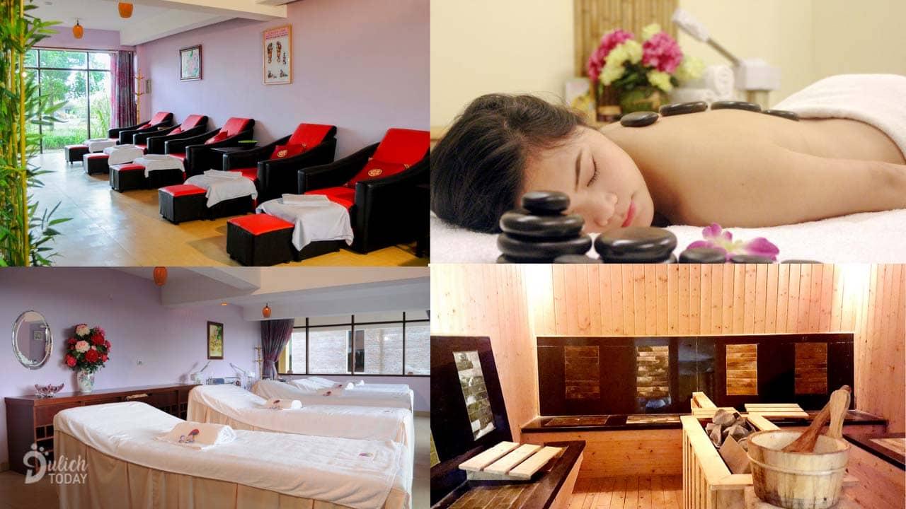 Thư giãn tại Sakura Spa ở resort Cúc Phương