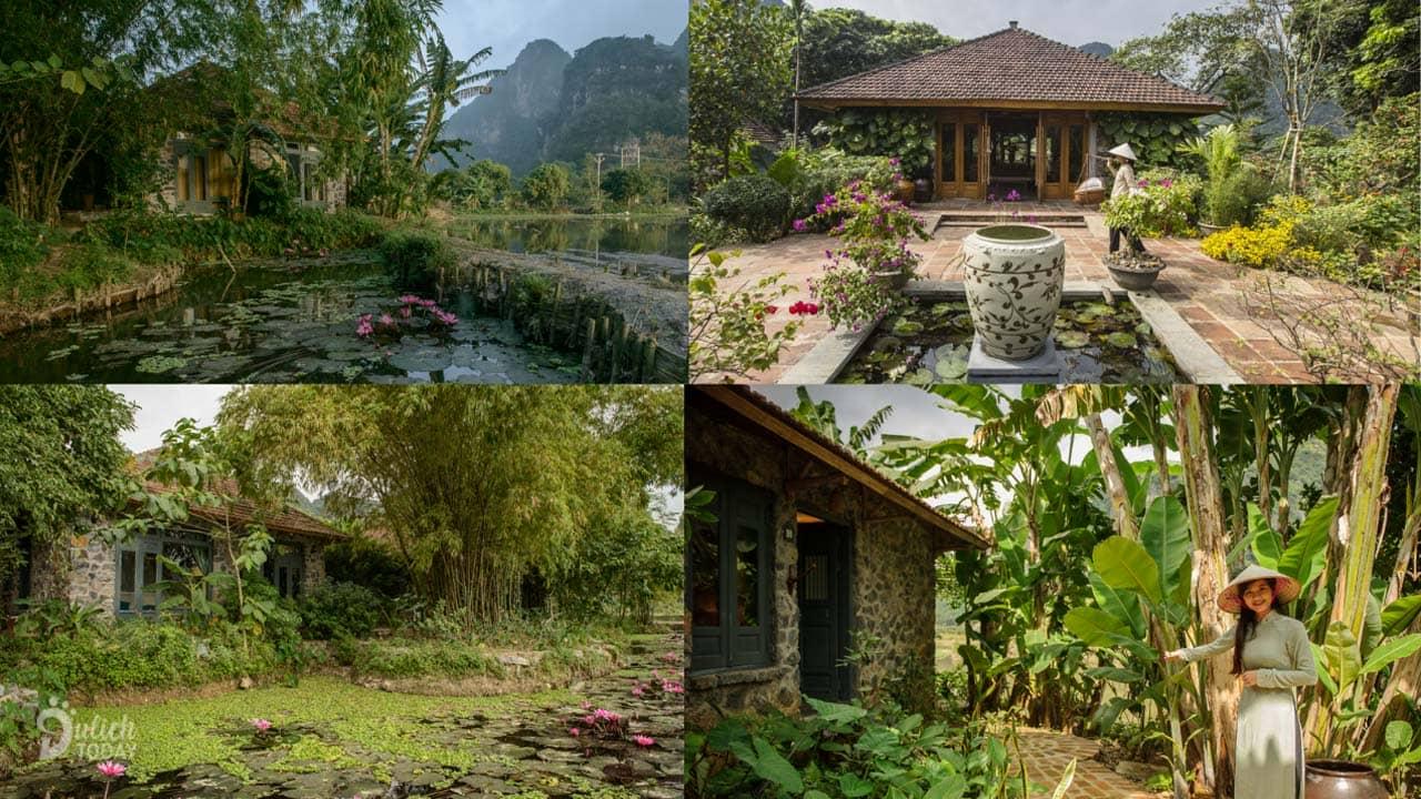 Không gian thanh bình hòa hợp với thiên nhiên tại Tam Cốc Garden Resort