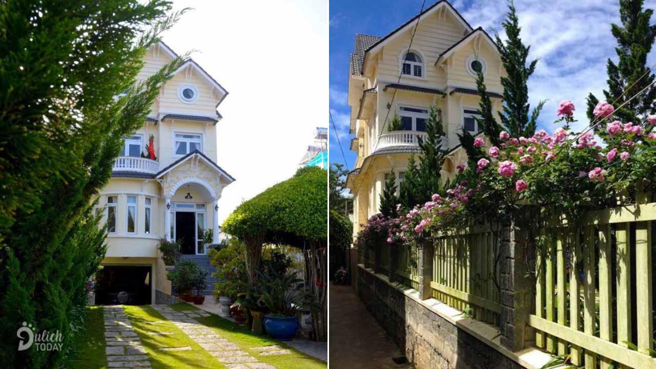 Villa Phương Giang Đà Lạt khang trang và đậm chất trữ tình