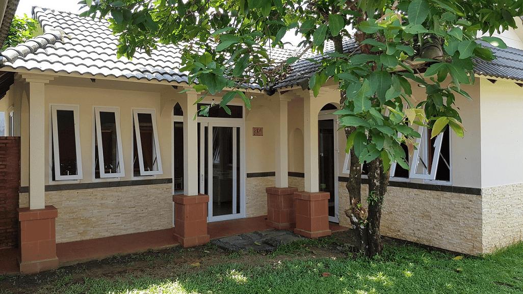 Không gian kín đáo, sang trọng và ấm áp mang đến cho gia đình một nơi nghỉ dưỡng hoàn hảo.