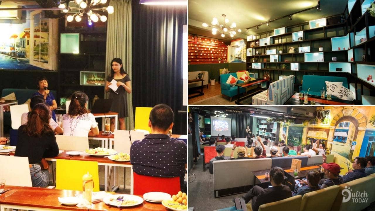 Không gian tổ chức sự kiện ở Casanova Cafe