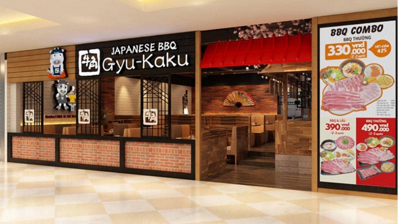 Gyu - Kaku famous Japanese restaurant in Hanoi