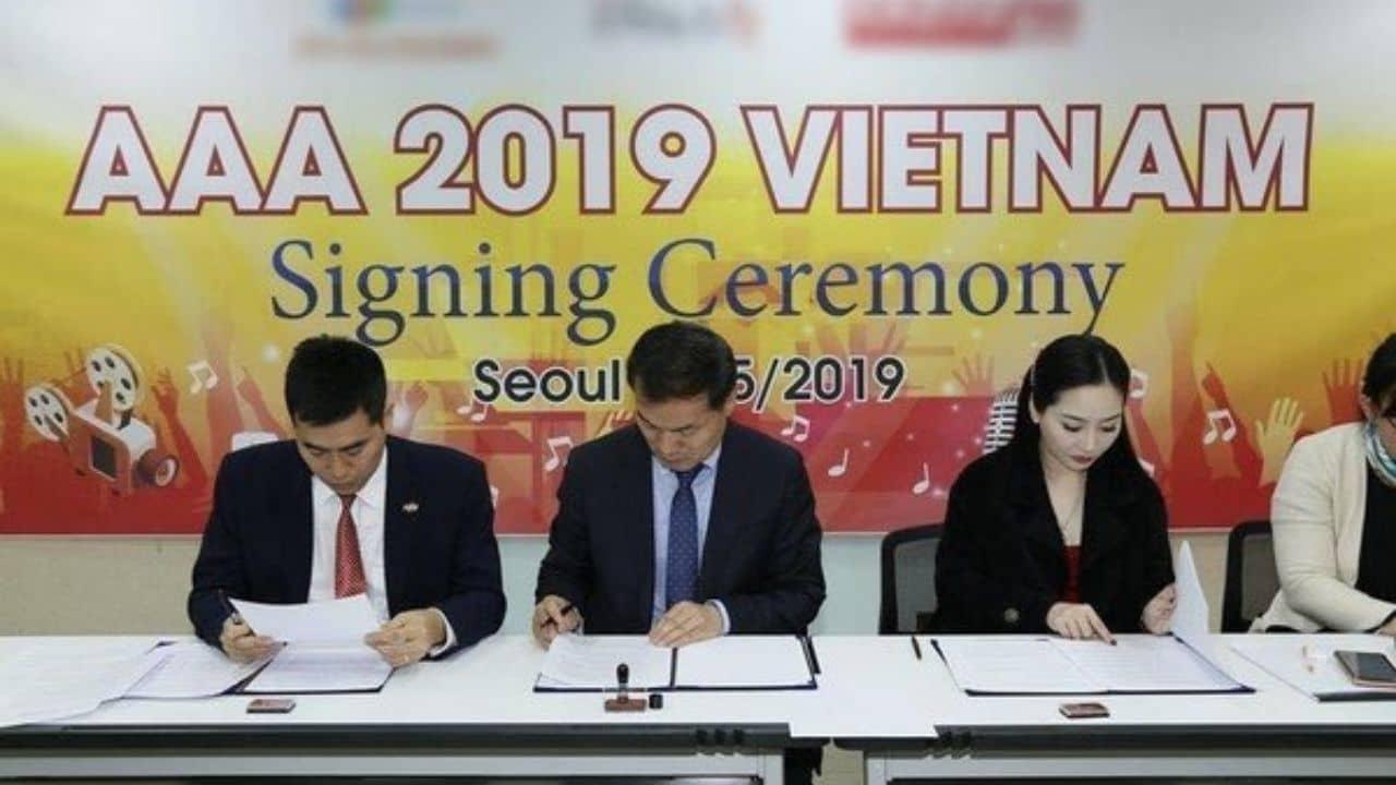 Lễ kí kết chính thức sự kiện AAA 2019 được tổ chức tại Việt Nam