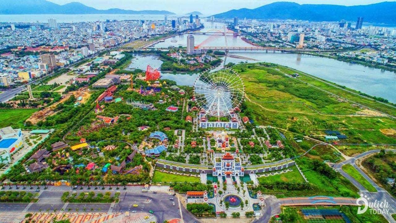 Asia Park là công viên văn hóa giải trí hàng đầu Đông Nam Á với nhiều hoạt động hấp dẫn. Nguồn: Internet