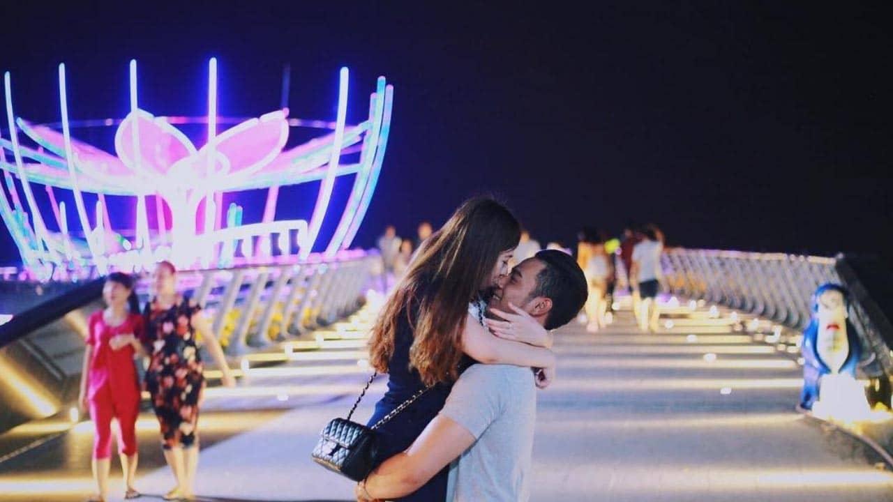 Cầu tình yêu Cần Thơ được nhiều cặp đôi lựa chọn để check-in