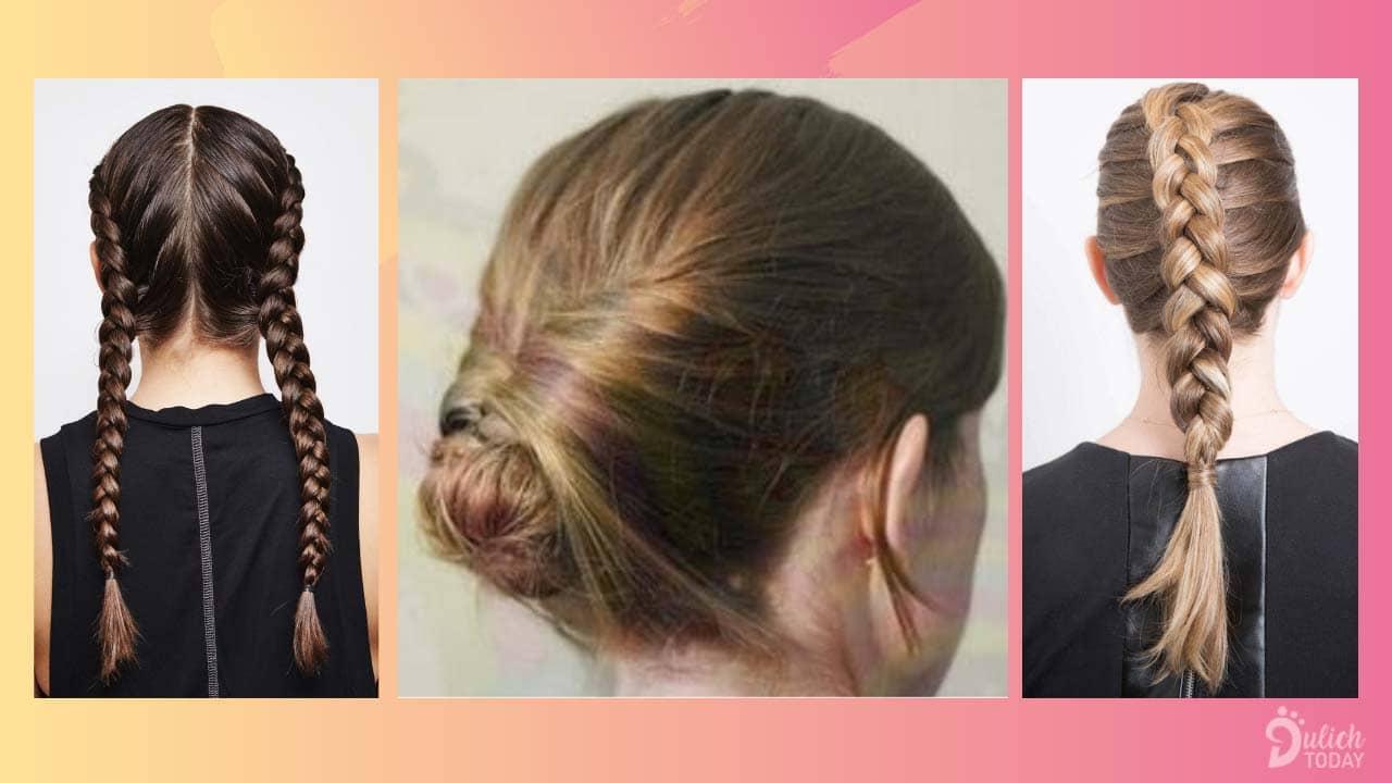 Một số kiểu tết tóc đơn giản trước khi xuống nước để bảo vệ mái tóc