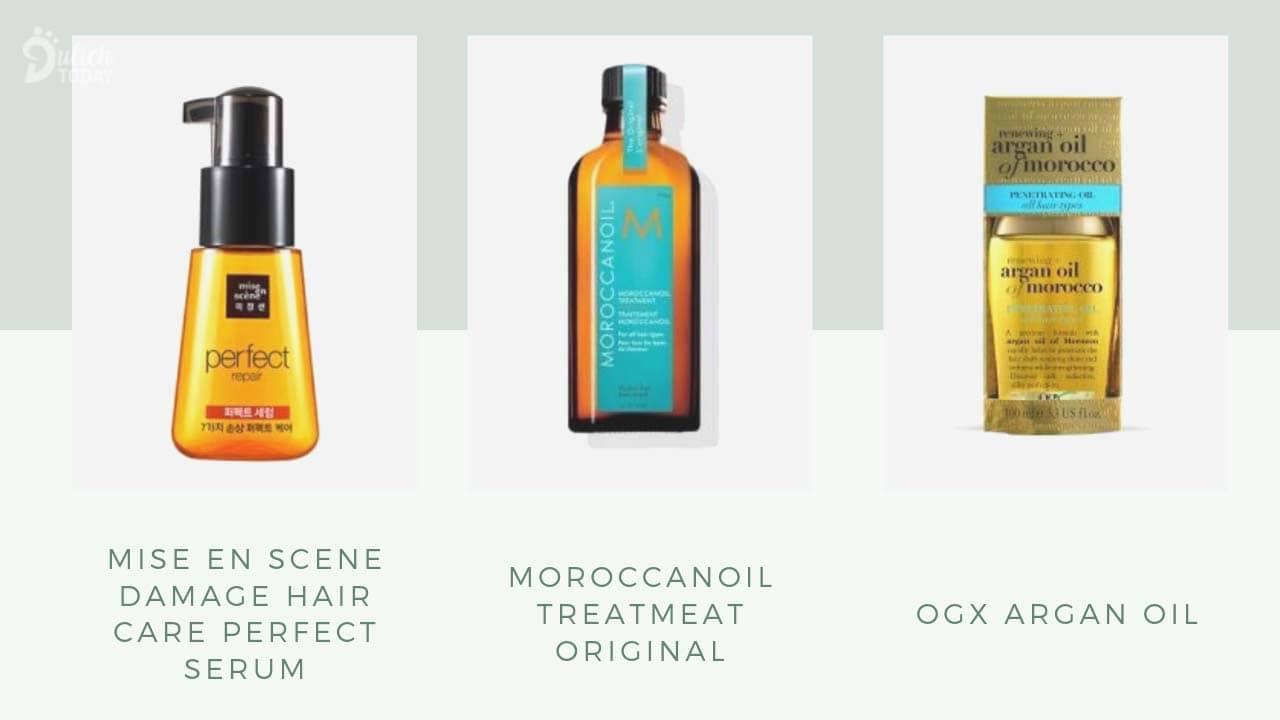 Một số loại dầu dưỡng tóc tốt