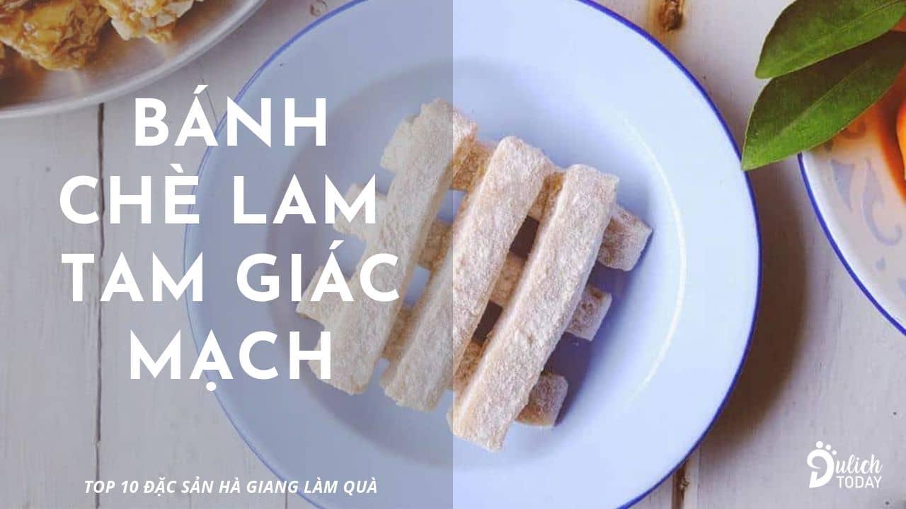 Chè lam tam giác mạch: đặc sản Hà Giang làm quà dễ mua dễ ăn