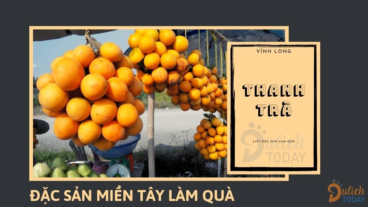 Thanh Trà là loại quả đặc sản miền Tây làm quà có 1-0-2 nơi tỉnh Vĩnh Long