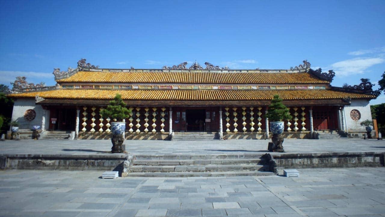 Điện Thái Hòa - địa điểm du lịch Huế