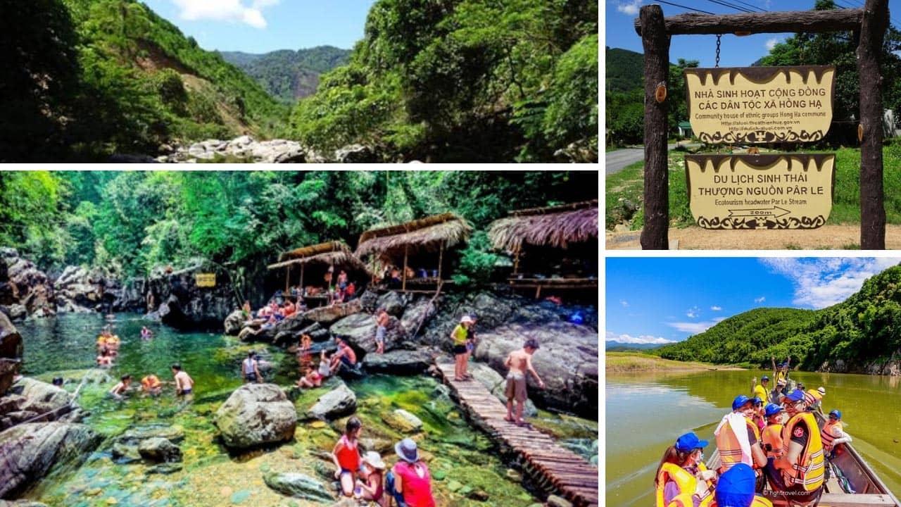 Khu du lịch sinh thái Pârle A Lưới là điểm giải nhiệt mùa hè lý tưởng tại Huế
