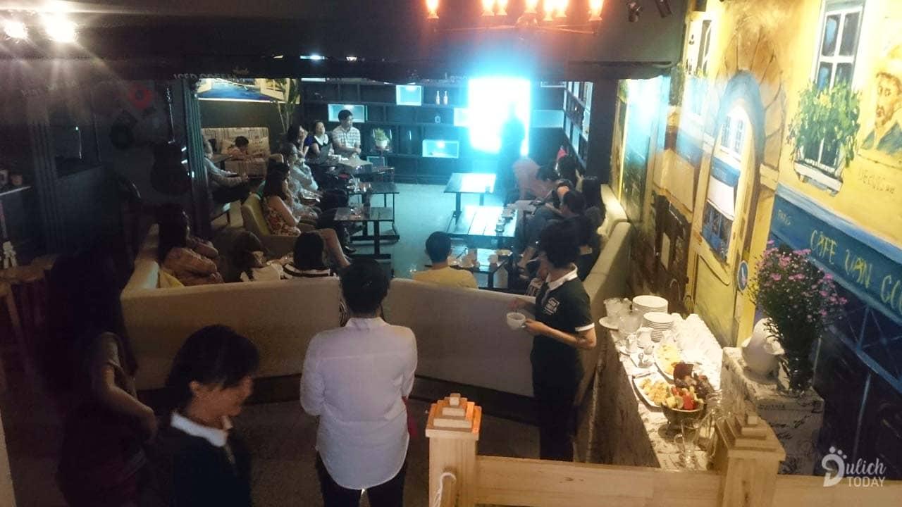 Một sự kiện nhỏ được tổ chức tại Casanova Cafe