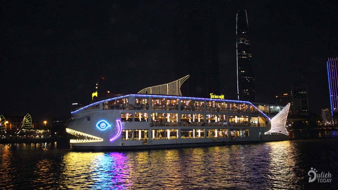 Tàu Bến Nghé - địa điểm tổ chức sự kiện tại TPHCM độc và lạ