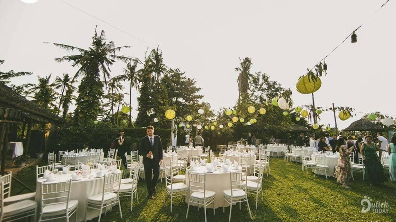 Tiệc cưới ở Bình An Village