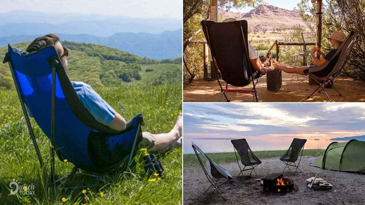 Ghế dã ngoại mang đến khoảng thời gian thư giãn ngắn trong ngày