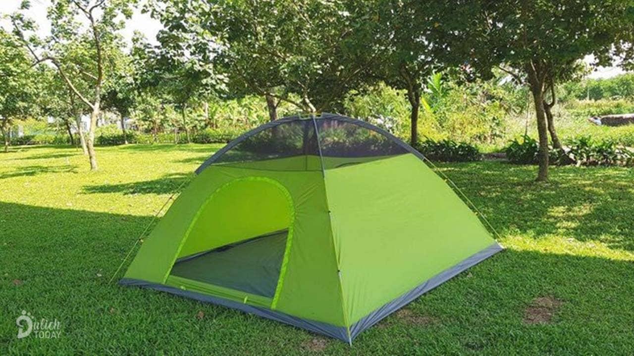 Nhắc tới những dụng cụ cắm trại thì lều là thứ đầu tiên bạn cần cân nhắc