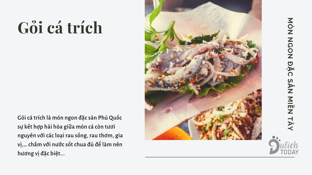 Thưởng thức món gỏi ngon nhất Phú Quốc: Gỏi cá trích
