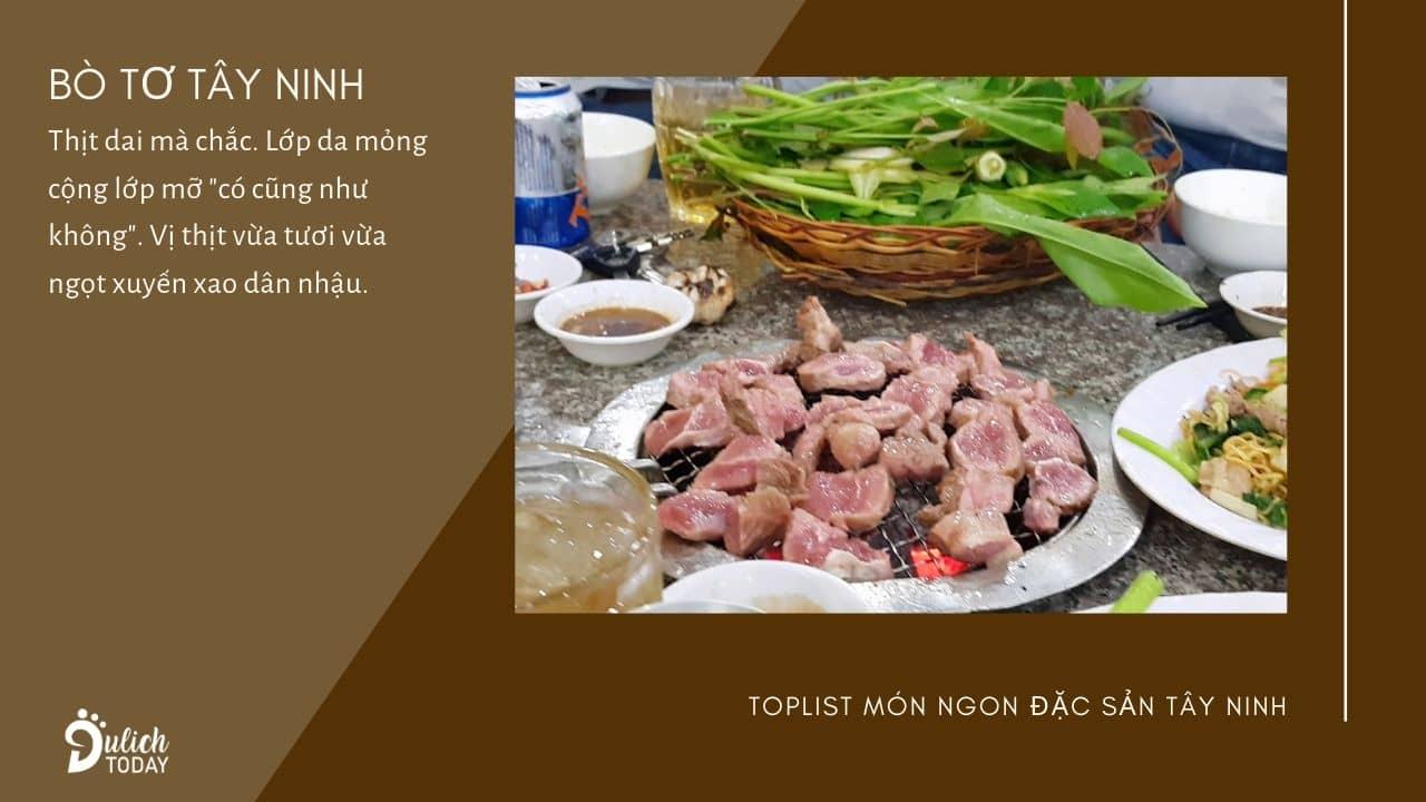 Bò tơ Tây Ninh mềm, ngọt
