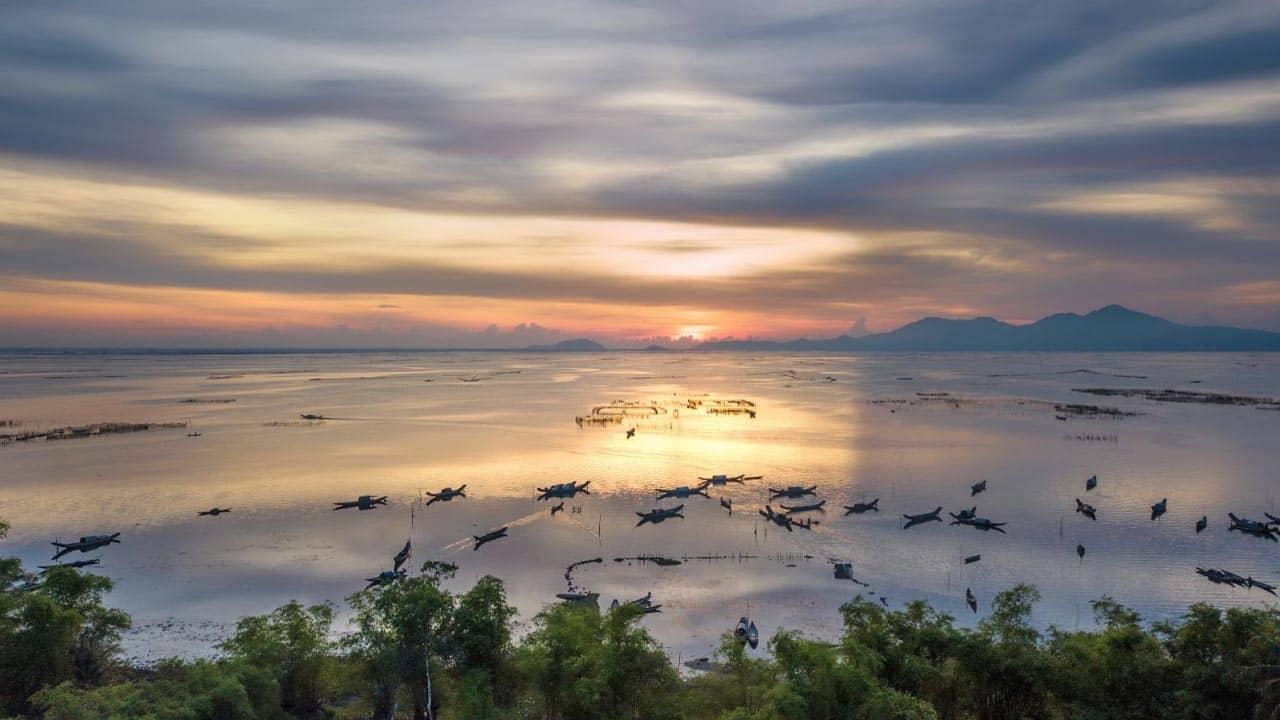 Phá Tam Giang: đầm nước lợ lớn nhất Đông Nam Á