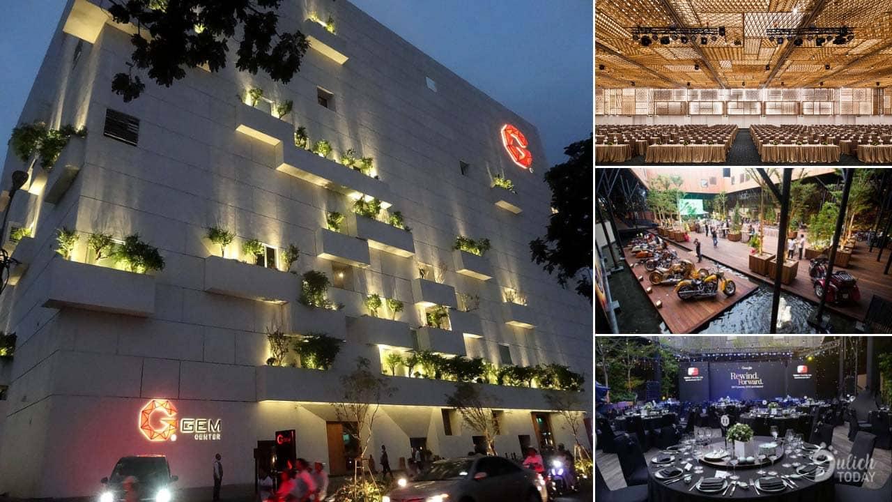 Gem Center là địa điểm tổ chức sự kiện Sài Gòn chuyên nghiệp hàng đầu