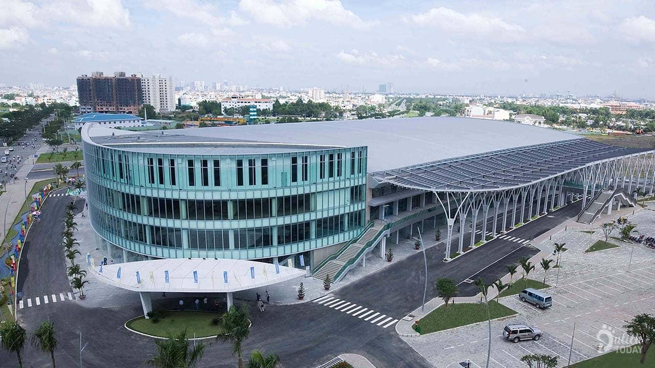 Trung tâm triển lãm và hội nghị Sài Gòn là địa điểm tổ chức sự kiện Sài Gòn lớn và chuyên nghiệp với sức chứa lên đến 2000 người