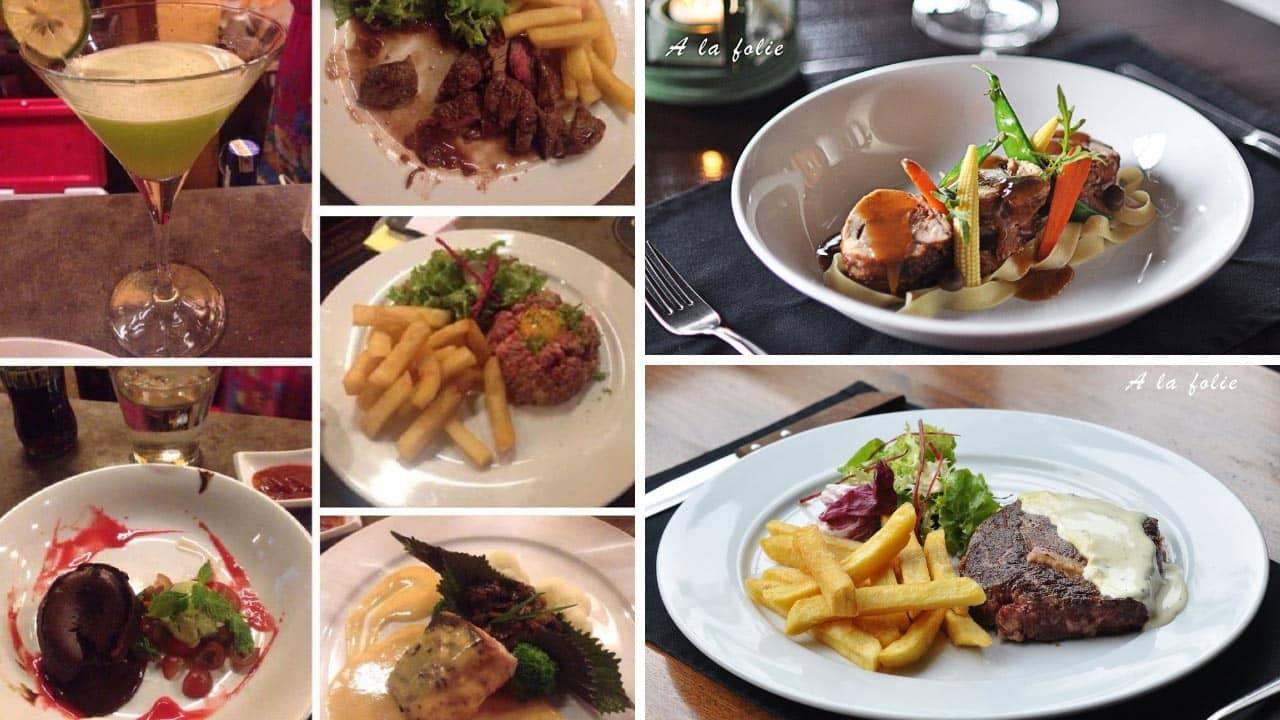 Những món ăn nổi tiếng tại nhà hàng A La Folie