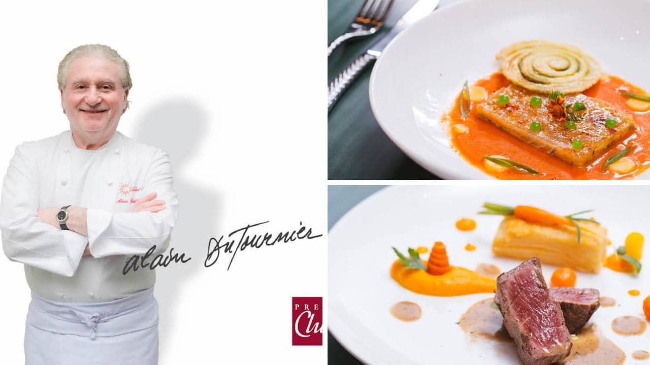 Bếp trưởng 2** Michelin Alain Dutourniernổi tiếng