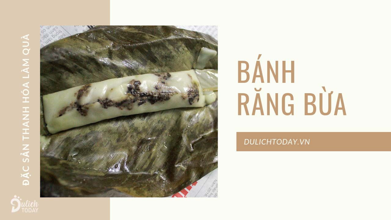 Bánh răng bừa là đặc sản Thanh Hóa mua làm quà rất hợp trong những ngày đông
