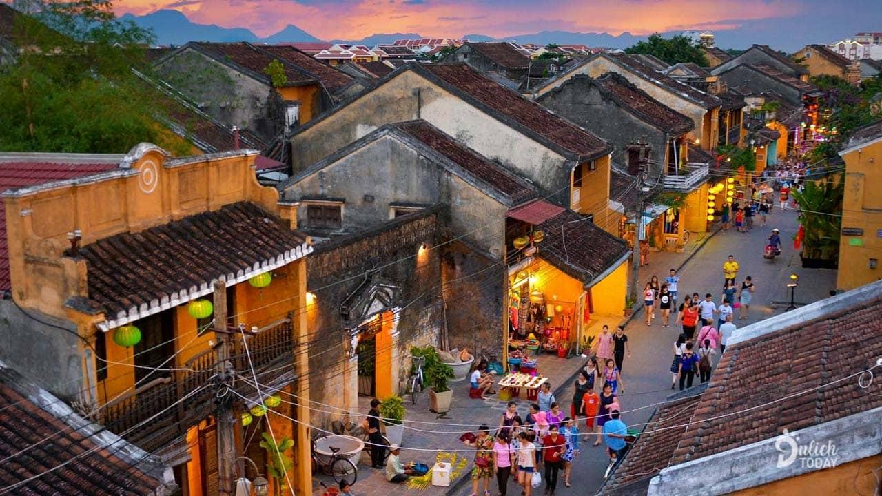 Hội An là địa điểm du lịch 2/9 cho những du khách thích nét đẹp hoài cổ