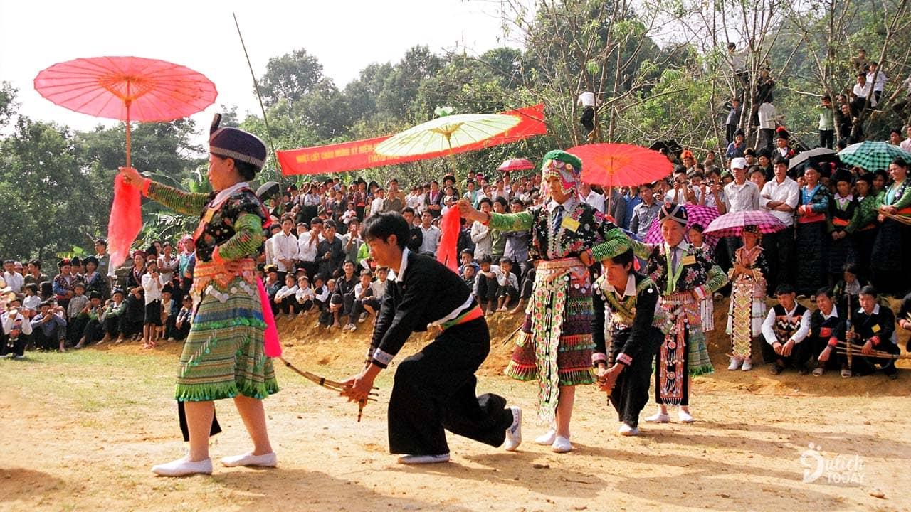 Ngày Tết Độc lập 2/9 của người Mông trên Mộc Châu