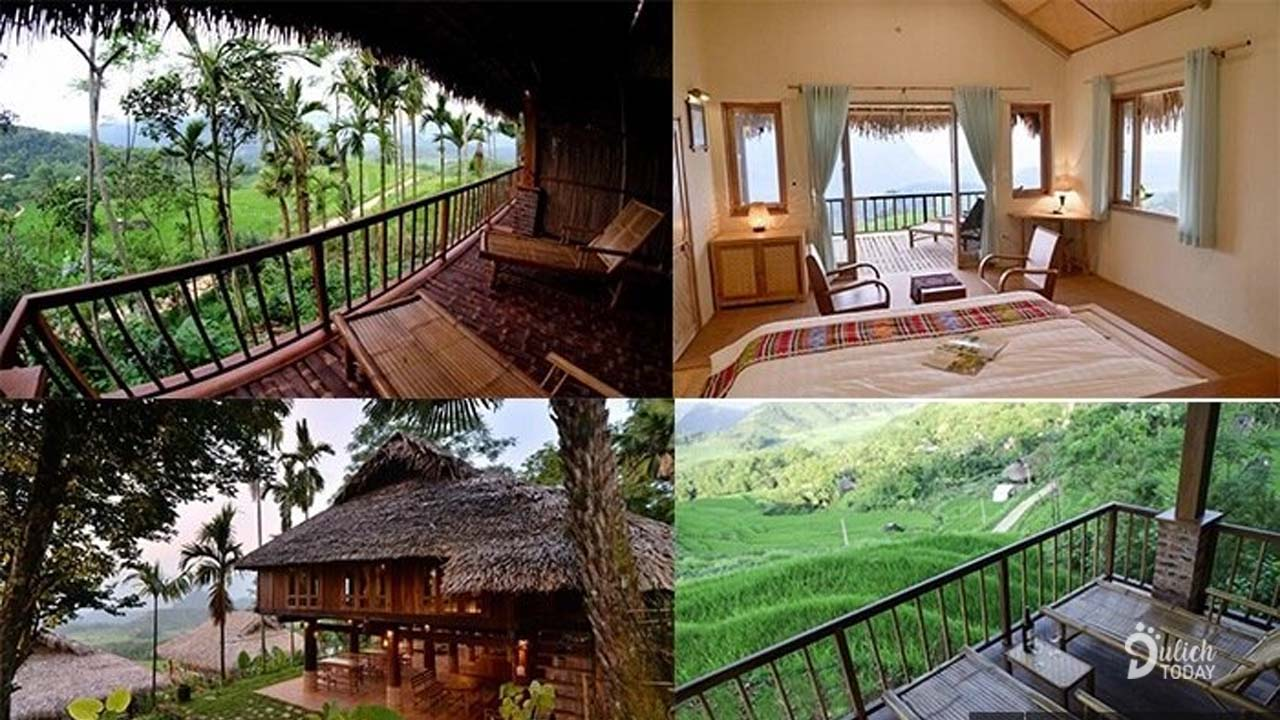 Khung cảnh thiên nhiên ở Pù Luông homestay