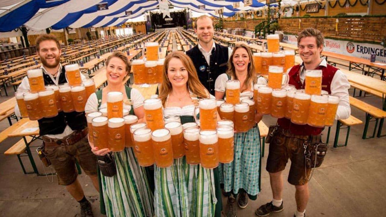 Thưởng thức các hương vị bia khác nhau đến từ Đức