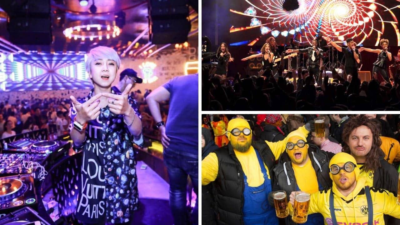 Thăng hoa cùng với nữ DJ Jenny Trần nổi tiếng cùng với gần 1000 người bạn khác tại lễ hội