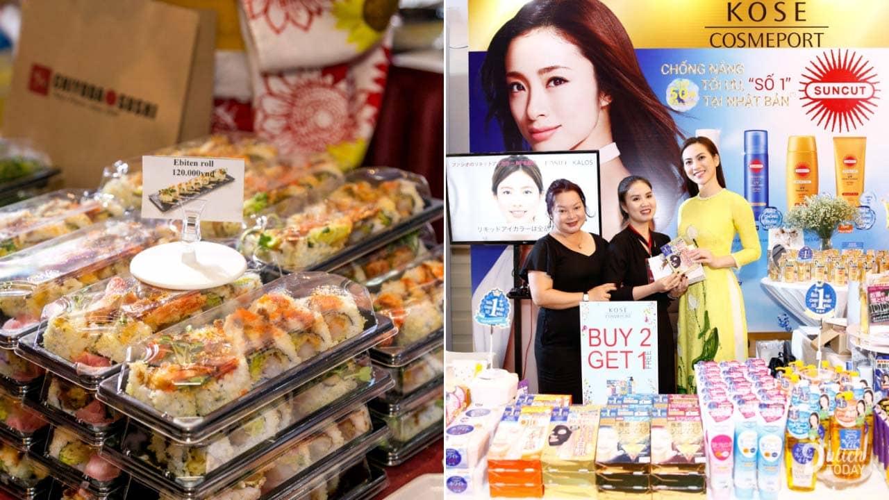 Cơ hội ăn uống thỏa thích và mua sắm mỹ phẩm giá ưu đãi tại lễ hội Japan in Vietnam 2019